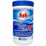Двухслойные таблетки 6 в 1 hth MAXITAB ACTION 6, 250 гр